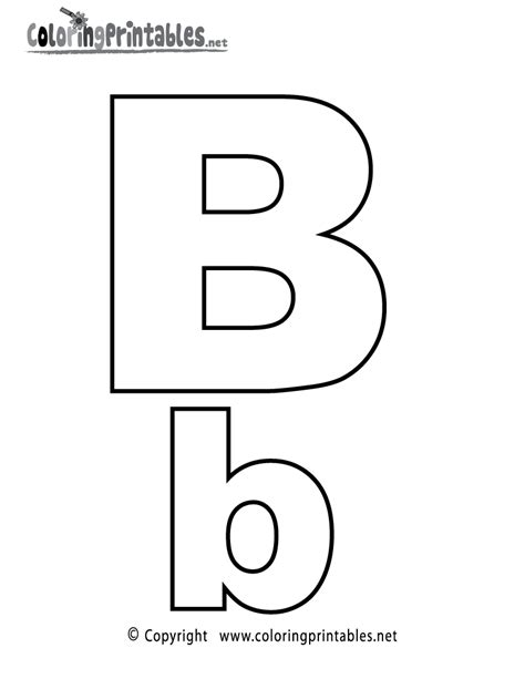 printable alphabet letters color alphabet letter b coloring page a free english coloring