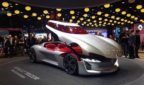 Tv Mobil Atap renault trezor satu satunya mobil konsep dengan desain