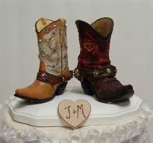 wedding cake topper western cowboy boots wedding ideas