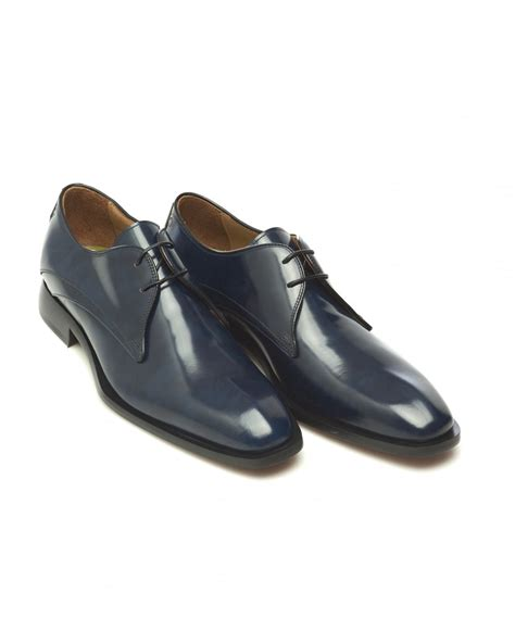 oliver sweeney slippers oliver sweeney mens deliceto derby antique blue leather shoes
