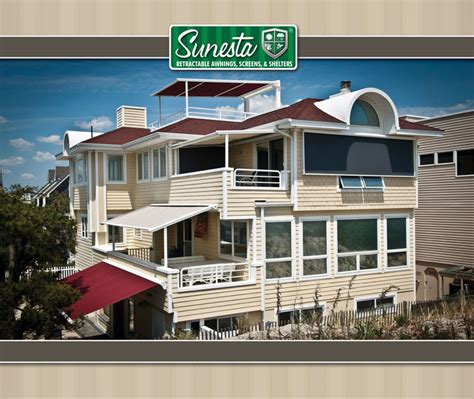 sunesta retractable awnings screens shelters awnings