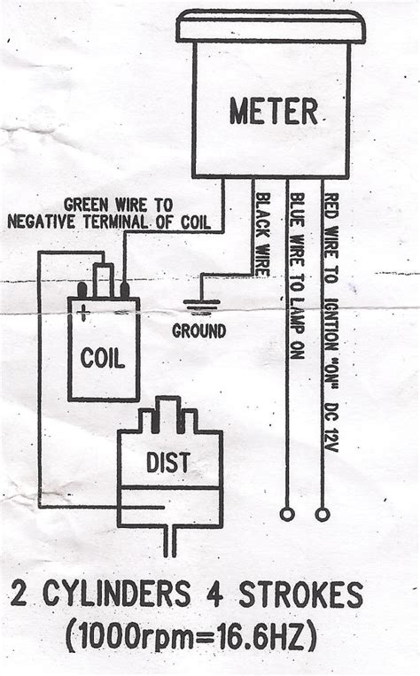 faq how do i hook up my tachometer marshall instruments wire diagram for a drag specialties 35 wiring diagram