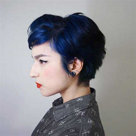 colorful short haircut short colored hair ideas with different styles short
