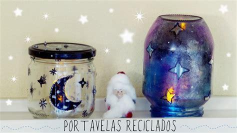como decorar tu cuarto navidad portavelas de cristal reciclados decora tu cuarto en
