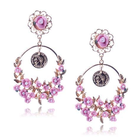 Flowery Earrings get cheap fimo flower earrings aliexpress
