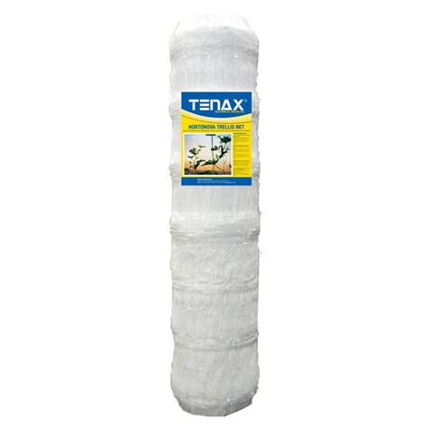 tenax 67 in x 3280 ft white hortonova plant trellis net