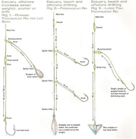 charter boat fishing rigs how to rig for saltwater pier fishing google search