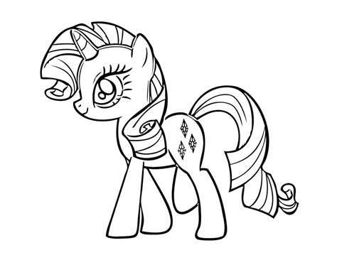 Free Printable My Little Pony Coloring Pages For Kids Free Colouring