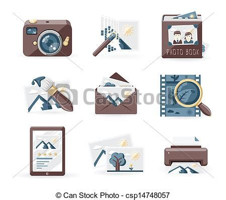 retro icons 20 free sets for vintage themed designs clipart vector of vintage photo icons photography icons