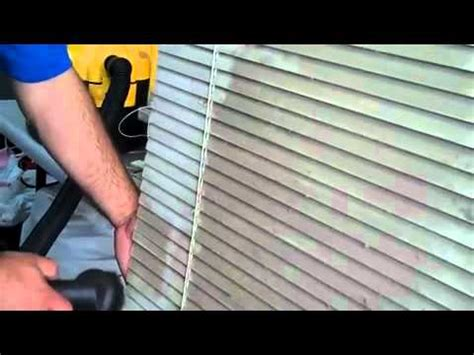 spray painting vertical blinds cleaning filthy aluminum horizontal blinds