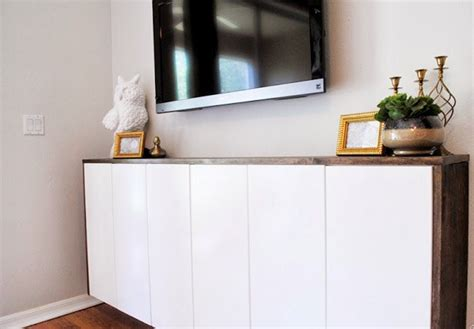 kitchen cabinet hacks 20 best ikea hacks of 2013 ikea hacks and floating cabinets