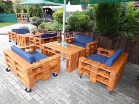 fabriquer salon de jardin en palette de bois 35 id 233 es
