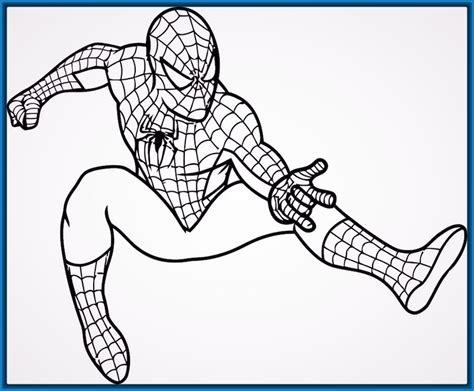Imagenes Para Colorear Spiderman | spiderman para colorear www pixshark com images
