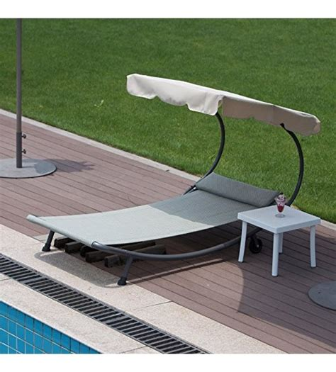 swimming pool chaise lounge abba patio outdoor portable single hammock bed swimming