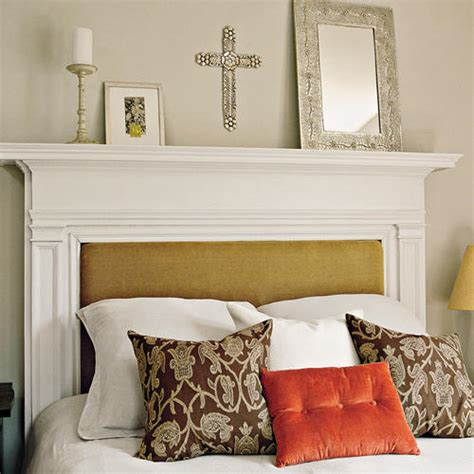 mantle headboard creating a beautiful headboard from a vintage mantel