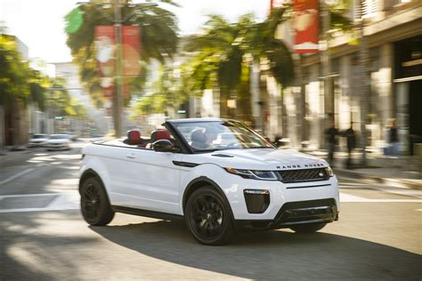 convertible land rover cost range rover evoque convertible 2016 prices and specs