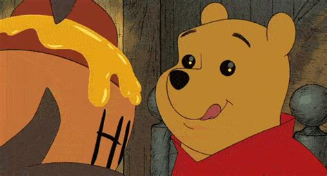 Imagenes Gif Winnie Pooh | hungry winnie the pooh gif find share on giphy