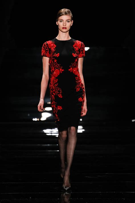 Fashion Week 2007 Reem Acra Saves The Best For Last Second City Style Fashion by Sfilata Reem Acra New York Fashion Week Autunno Inverno