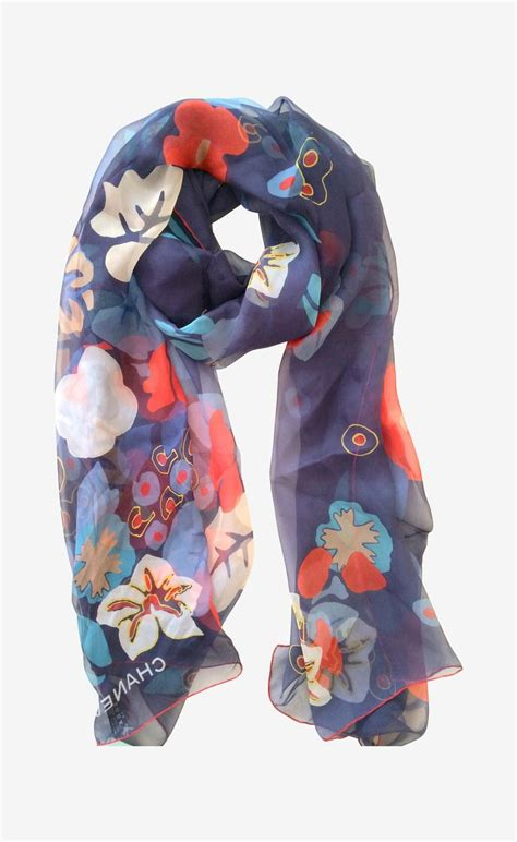 chanel scarf my style
