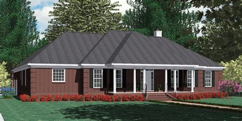 southern heritage home designs duplex plan 1261 a house plans home designs and floor plans by southern