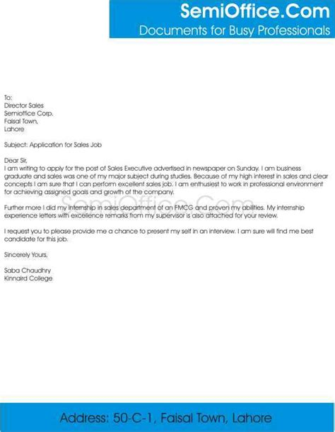 sles of resume cover letters by email sales associate cover letter for resume
