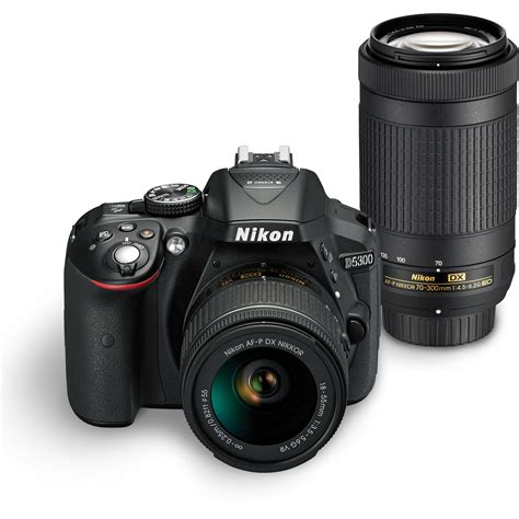 dslr or digital nikon d5300 dslr dual lens kit 1579 b h photo
