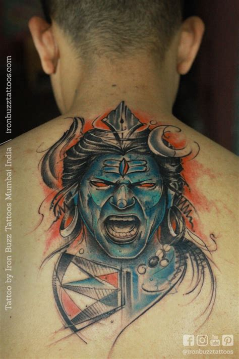 body tattoo cost in india best lord shiva mahadev tattoos done at iron buzz