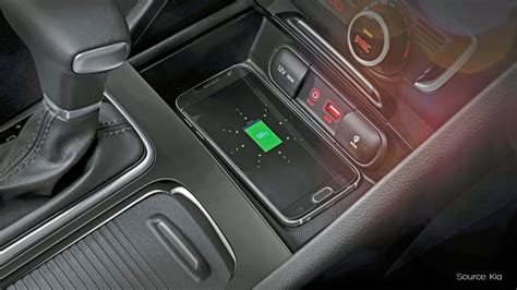 kia wireless charging aircharge
