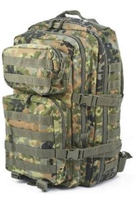 Army Backpack 3 In 2 penn mil tec army patrol molle assault pack