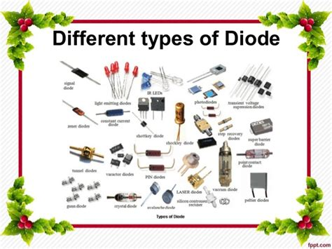 types of diodes in zener diode