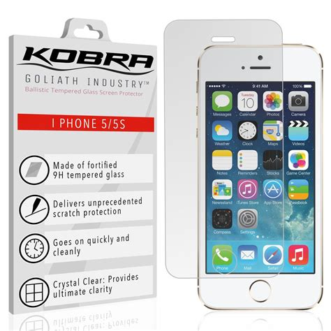 iphone  screen protector mm  tempered glass ultra