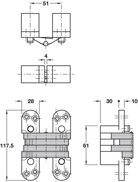 soss hinge installation template soss hinge zinc alloy plated steel links