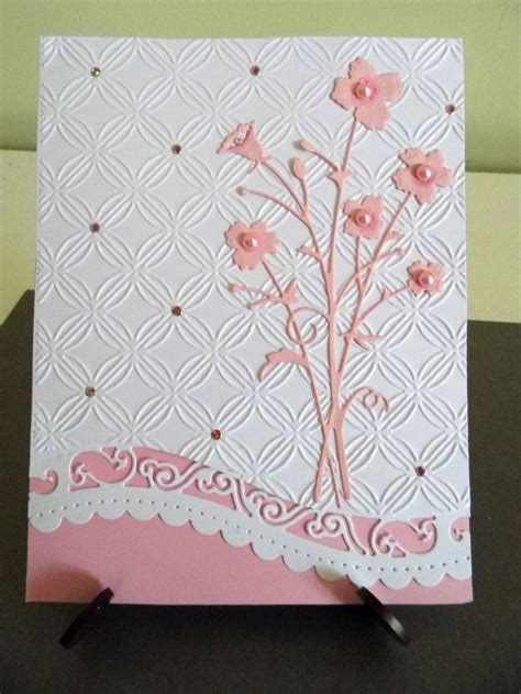 Handmade Die Cut Cards - 732 best images about cards using die cuts on