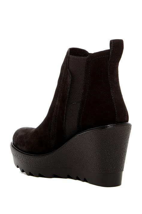 Danisa Dress vince camuto danisa platform wedge chelsea boot in black