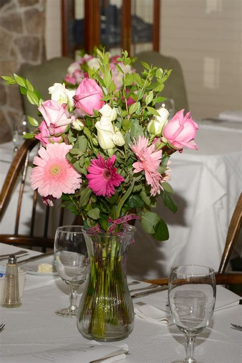 Flowers For The Wedding Tables