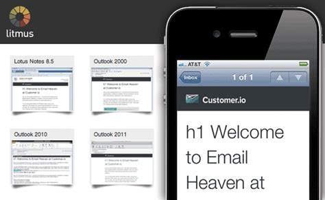 Responsive Email Templates Customer Io Litmus Email Templates