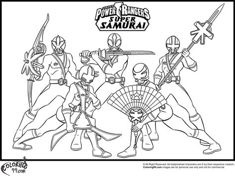 coloring pages of power rangers samurai free coloring pages of gold samurai ranger