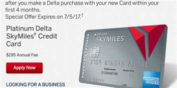 delta skymiles business credit card platinum delta skymiles business card from american