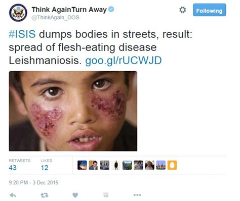 Spreads The Disease by Spreading Flesh Bug Across Syria As A Result