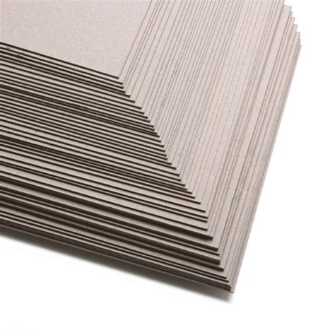 thick sheets 12 inch square backing card grey board 600gsm 1mm thick