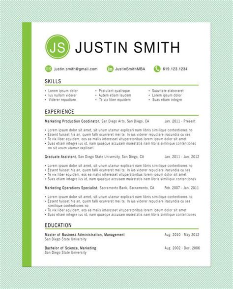 Resume Ideas by Best 20 Resume Ideas Ideas On
