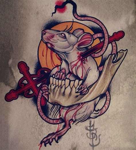 rat tattoo designs best 25 rat ideas on rat ratatouille
