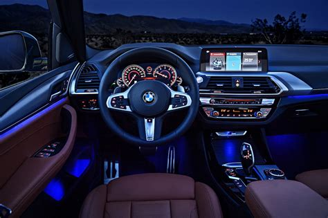 bmw inside 2018 bmw x3 first look motor trend