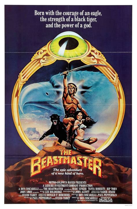 beast master poster for the beastmaster 1982 usa germany wrong