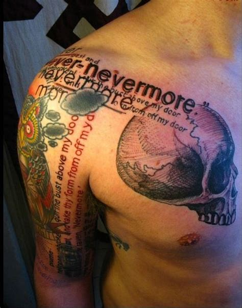 nevermore i the idea of doing a sleeve with