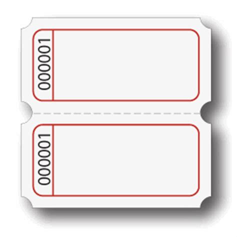 printable blank raffle tickets pin blank raffle tickets template free on pinterest