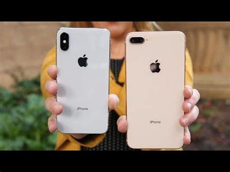 iphone x vs iphone 8 plus los mejores tel 233 fonos de apple frente a frente