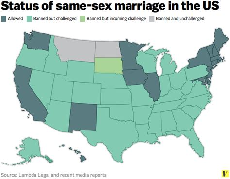 map usa marriage same marriage is winning in two maps vox