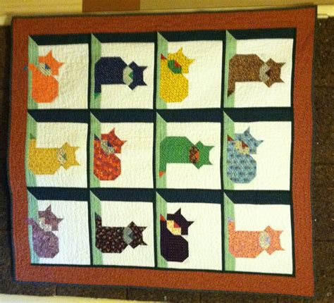 Cat Quilting Patterns by Cat In The Attic Quilt Page 2