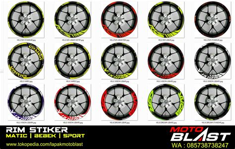 Velg Racing Lebar Mio Soul Palang 5 Power Chrome 85 modifikasi scoopy velg lebar kumpulan modifikasi